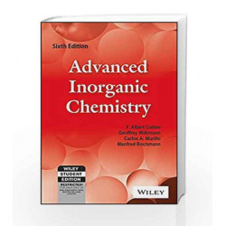 Advanced Inorganic Chemistry, 6ed by Cotton Book-9788126513383