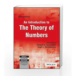 An Introduction to the Theory of Numbers, 5ed by Ivan Niven Book-9788126518111