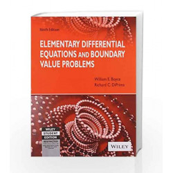 Elementary Differential Equations and Boundary Value Problems, 9ed by DATE / KANNAN Book-9788126521555