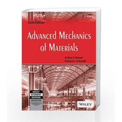 Advanced Mechanics of Materials, 6ed by Richard J. Schmidt Arthur P. Boresi Book-9788126522163