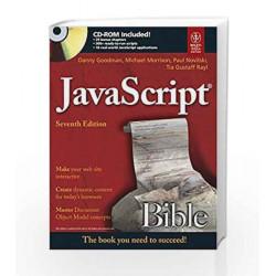 JavaScript Bible, 7ed by Danny Goodman Book-9788126529100