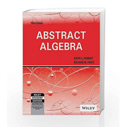 Abstract Algebra, 3ed by David S. Dummit Book-9788126532285