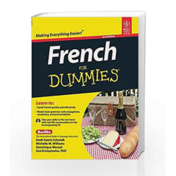 French for Dummies, 2ed by Michelle M. Williams, Dominique Wenzel, Zoe Erotopoulos Dodi-Katrin Schmidt Book-9788126534661