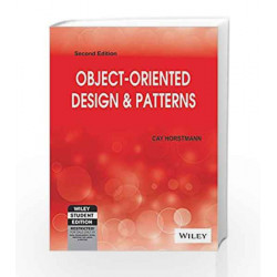 Object-Oriented Design & Patterns, 2ed by Cay Horstmann Book-9788126534715