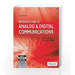 An Introduction to Analog & Digital Communications, 2ed by Michael Moher Simon Haykin Book-9788126536535