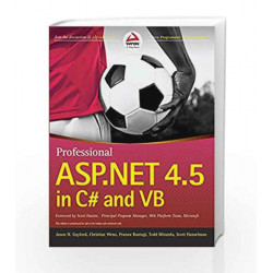Professional ASP.NET 4.5 in C# and VB (WROX) by RAJPUT Book-9788126542758