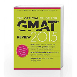 The Official Guide for GMAT Review 2015 by - Book-9788126546862