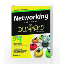 Networking All-In-One for Dummies, 5ed by ADELSTEIN Book-9788126547128