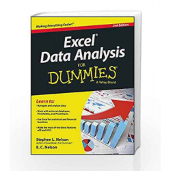 Excel Data Analysis for Dummies, 2ed by JAMES Book-9788126550524