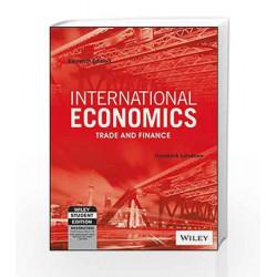 International Economics: Trade and Finance, 11ed, ISV (WSE) by MANJUL Book-9788126552344