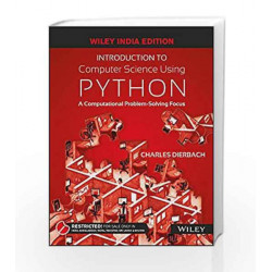 Introduction to Computer Science using Python by LAXMI PUB Book-9788126556014