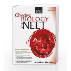 Wiley\'s Objective Biology for NEET by Himanshu Agarwal Book-9788126563708