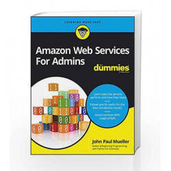 Amazon Web Services For Admins For Dummies by John Paul Mueller Book-9788126565634