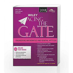 Wiley Acing the Gate: Engineering Mathematics and General Aptitude, 2018ed by Anil K. Maini Book-9788126567430