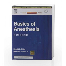 Basics Of Anesthesia by Miller Book-9788131228982