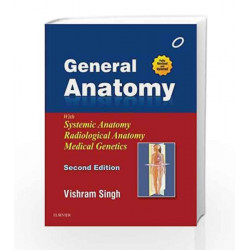 General Anatomy by Singh Book-9788131234631