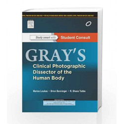 Gray\'s Clinical Photographic Dissector of the Human Body:with Student Consult Online Access by Loukas Book-9788131234945