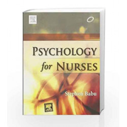 Psychology for Nurses by Babu Book-9788131236536