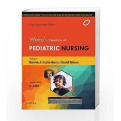 Wong\'s Essentials of Pediatric Nursing, South Asia Edition by A. Judie Book-9788131239926