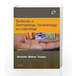 Textbook of Dermatology, Venereology and Leprology by Thappa Book-9788131242513
