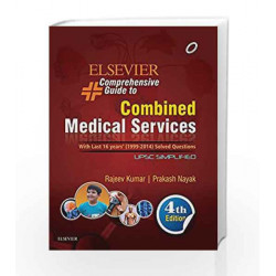 Elsevier Comprehensive Guide to Combined Medical Services (UPSC)-E-Book by Rajeev Kumar Book-9788131243411