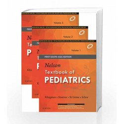 Nelson Textbook of Paediatrics 1st South Asia Edition by Kliegmann Book-9788131243701