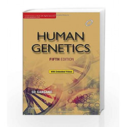 Human Genetics, 5e by Gangane Book-9788131248706
