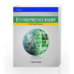Entrepreneurship: Text and Cases by P. Narayana Reddy Book-9788131513507