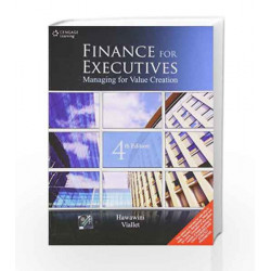 Finance for Executives Managing for Value Creation by Gabriel Hawawini Book-9788131516805