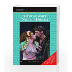 A Midsummer Night\'s Dream Evans Shakespeare Editions by Douglas Bruster Book-9788131517628