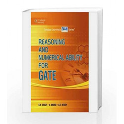 Reasoning and Numerical Ability for GATE by S.K Singh Book-9788131518069