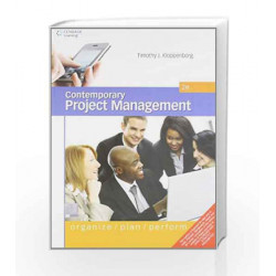 Contemporary Project Management by Timothy J. Kloppenborg Book-9788131518717