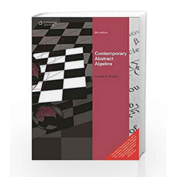 Contemporary Abstract Algebra by BURLESON Book-9788131520741