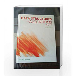 Data Structure and Algorithm in C++ by SAY * Book-9788131521267