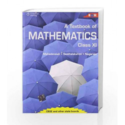 A Textbook of Mathematics Class XI: Class - 11 by Mahadevaiah Book-9788131521625