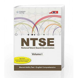 NTSE Volume I Mental Ability Test and English Comprehension by Cengage Learning India Book-9788131522134