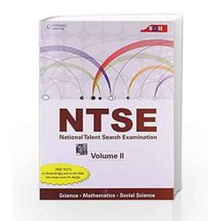 NTSE Volume II Science, Mathematics and Social Science by Cengage Learning India Book-9788131523780