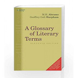 A Glossary of Literary Terms by M.H. Abrams Book-9788131526354