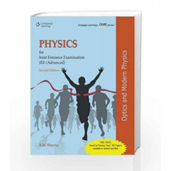Physics for Joint Entrance Examination JEE (Advanced): Optics and Modern Physics (Old Edition) by B.M. Sharma Book-9788131526422