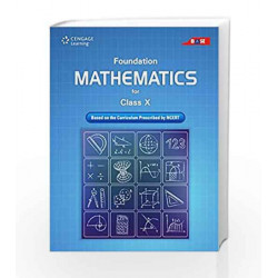 Foundation Mathematics for Class X by Cengage Learning India Book-9788131527740