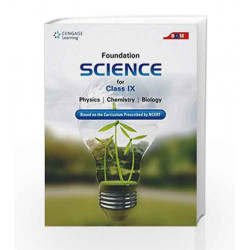 Foundation Science for Class IX by Cengage Learning India Book-9788131527764