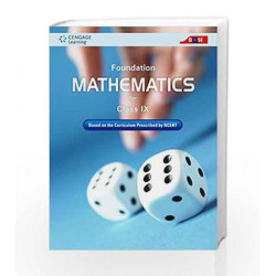 Foundation Mathematics for Class IX by Cengage Learning India Book-9788131527771
