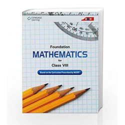 Foundation Mathematics for Class VIII by Cengage Learning India Book-9788131527795