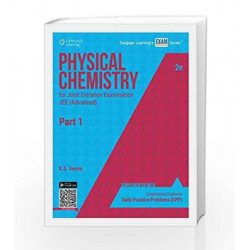 Physical Chemistry for Joint Entrance Examination JEE (Advanced) - Part 1 by K.S. Verma Book-9788131530641