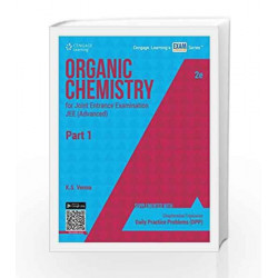 Organic Chemistry for Joint Entrance Examination JEE (Advanced) - Part 1 by K.S. Verma Book-9788131530689