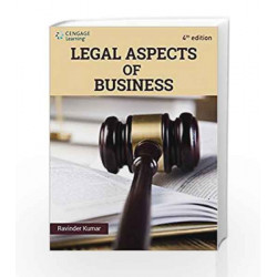 Legal Aspects of Business by Ravinder Kumar Book-9788131531594