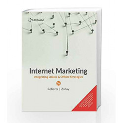 Internet Marketing Integrating Online and Offline Strategies by Zahay Roberts Book-9788131531785