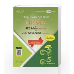 Chapterwise Solutions of Physics for JEE Main 2002-2016 and JEE Advanced 1979-2016 by Sharma Book-9788131531846