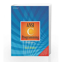 ANSI C Programming by Gary J. Bronson Book-9788131531976