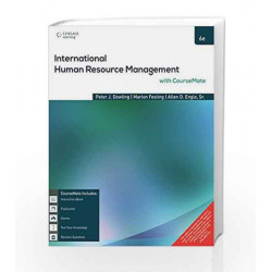 International Human Resource Management with Course Mate by Peter Dowling Book-9788131532058